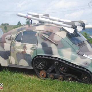 Car rocket launcher kit