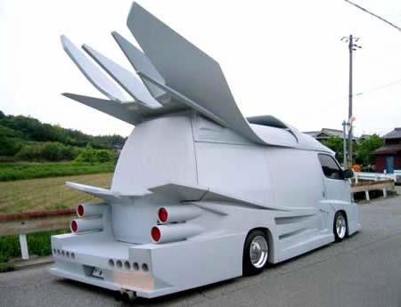 Big car wings