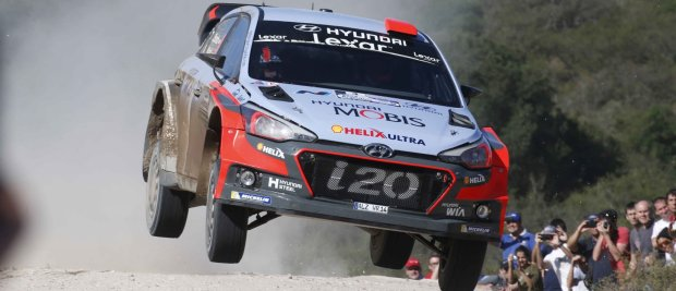 Hyundai WRC Argentina Winning