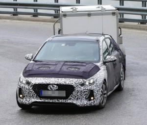 2017 Hyundai i30 spied testing