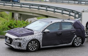 2017 Hyundai i30 spy shots