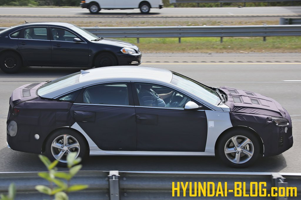 2018 hyundai sonata facelift. modren facelift sonata led facelift pics spy shots of 2018 hyundai future model intended hyundai sonata e