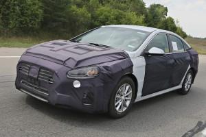 Hyundai Sonata Spy Shots