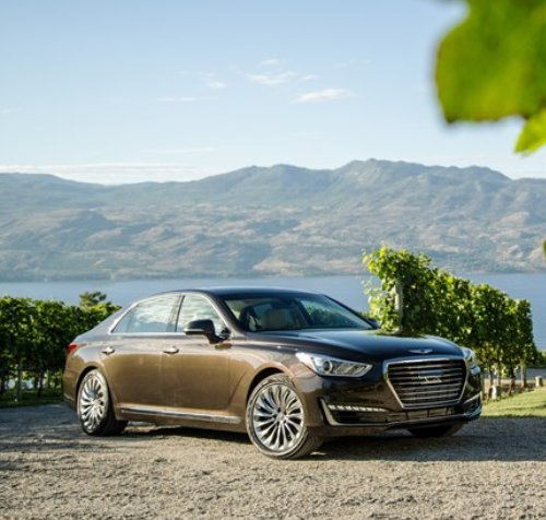 2017 genesis g90 prices announced starts at 69 050. Black Bedroom Furniture Sets. Home Design Ideas