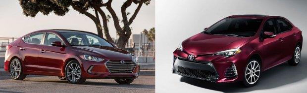 Hyundai Elantra VS. Toyota Corolla