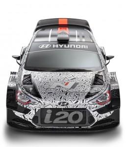 Hyundai WRC car for 2017