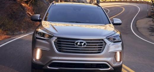 Hyundai SUV with 7 seats.