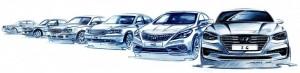Hyundai Grandeur History