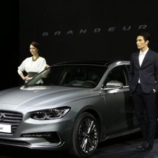 New Hyundai Grandeur Korea