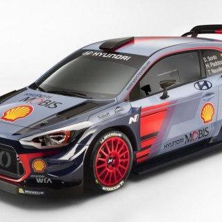Hyundai i20 Coupe For WRC
