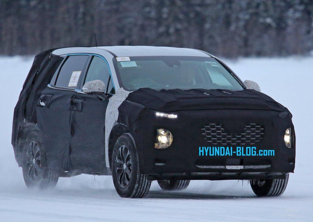 2019 Hyundai Santa Fe Release Date Spy Shots News Rumors