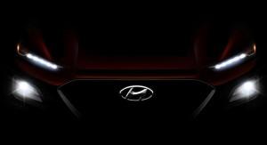 Teaser Image Of Hyundai Kona