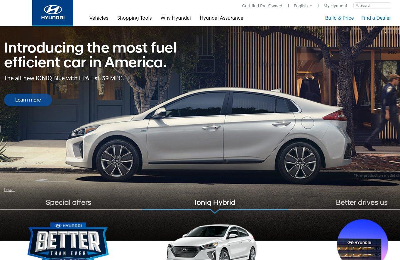 HyundaiUSA.com, The Official Hyundai Website In US