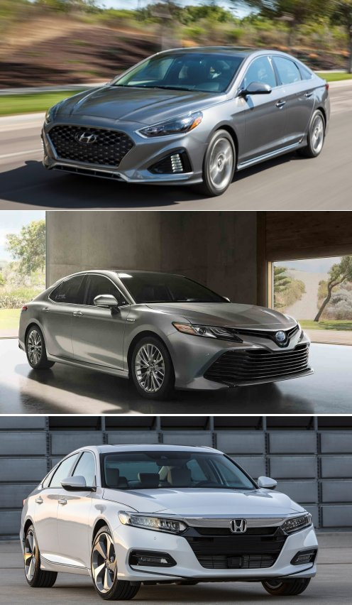 2018 Hyundai Sonata vs. Honda Accord vs. Toyota Camry