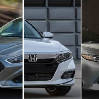 2018 U.S. midsize sedans compared