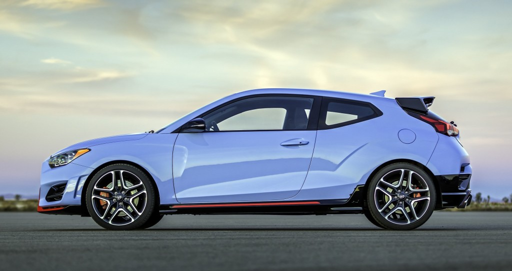 Hyundai Veloster N hot hatchback