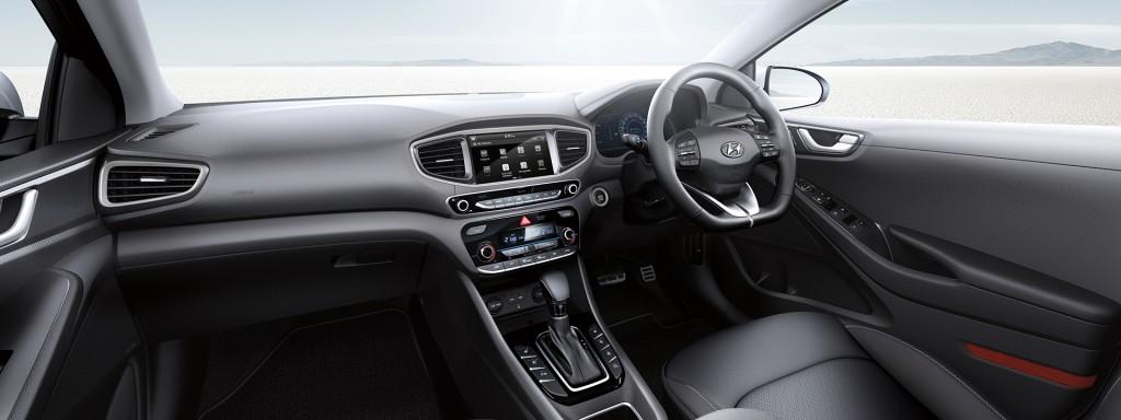 Hyundai Ioniq interior (Australia specs)