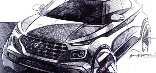Hyundai car sketches & image renderings