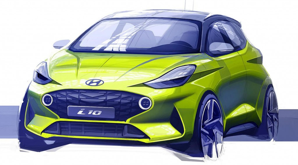 Hyundai i10 rendering