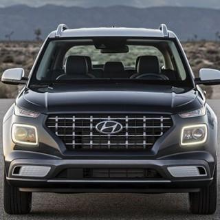 Hyundai Venue size