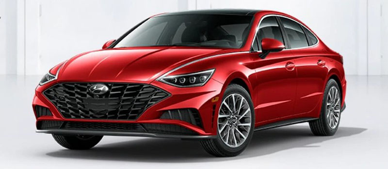 Calypso Red Hyundai Sonata 2020