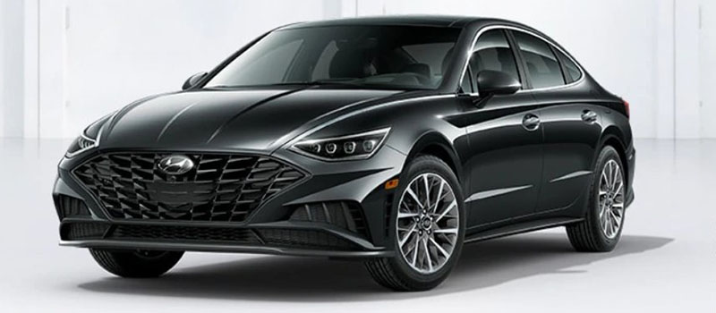 Phantom Black Hyundai Sonata 2020
