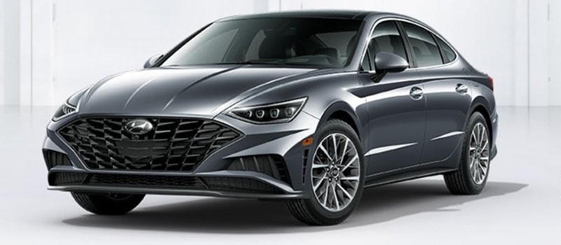 Portofino Gray Hyundai Sonata 2020