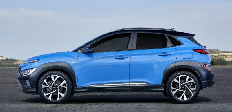 Hyundai Kona facelift pictures