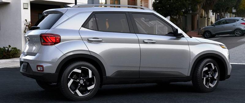 Hyundai Venue Stellar Silver