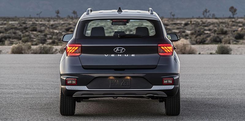 Hyundai Venue cargo space size