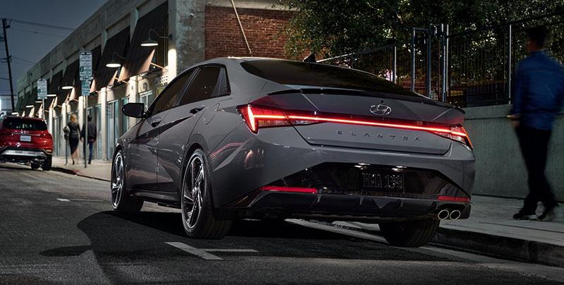 Hyundai Elantra trim levelss