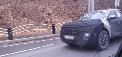 Hyundai Pick-Up Truck Spy Shots