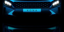 Hyundai Kona facelift image rendering