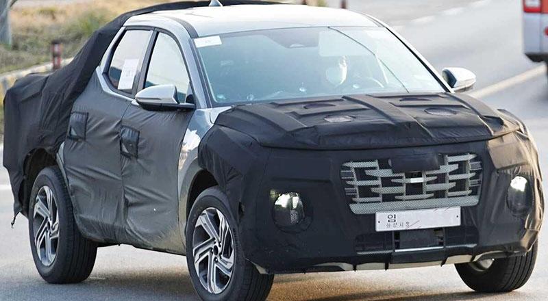 Future Hyundai Santa Cruz Pickup