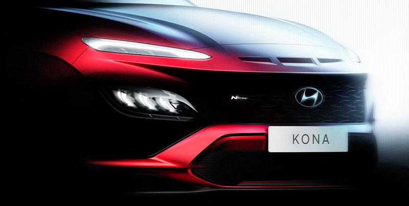 Hyundai Kona N Line rendering