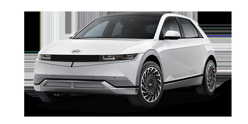 Hyundai Ioniq 5 EV Atlas White color