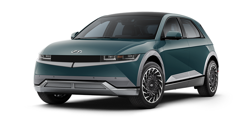Hyundai Ioniq 5 EV Mineral Teal color option