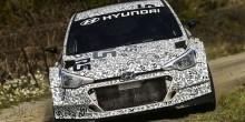Hyundai i20 R5 rally car