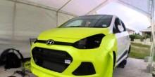 Hyundai Car Wrap
