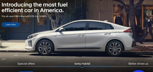 Hyundai official website