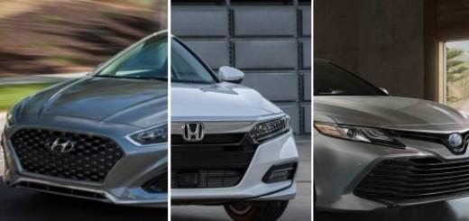 2018 U.S. midsize sedans compared