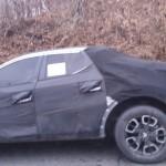 Hyundai Santa Cruz Spy Shots